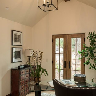 Elegant home office photo in Other