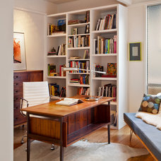 Midcentury Home Office by Studio Schicketanz