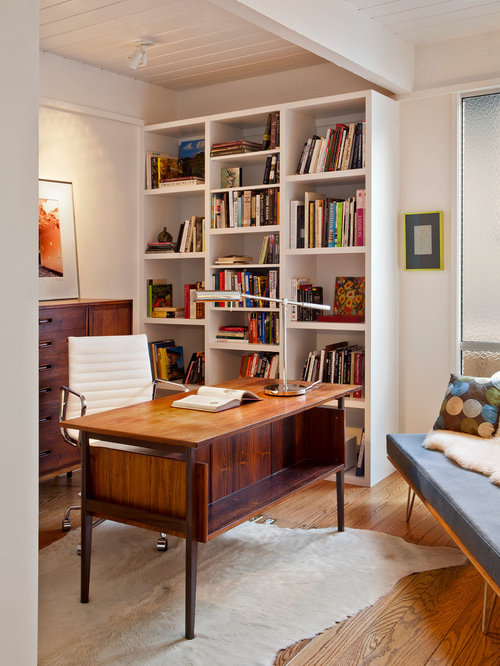 30 Best Midcentury Modern Home Office Ideas & Decoration Pictures ...
