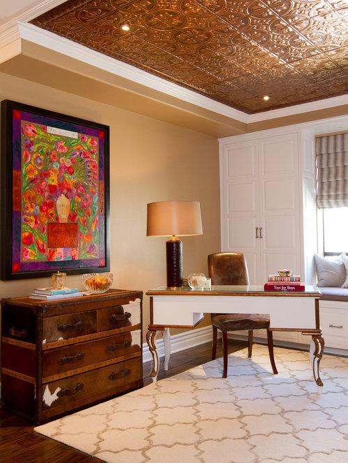 default houzz image - Copper Ceiling Tiles