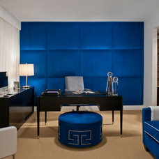 Modern Home Office by Carolyn Miller Interiors
