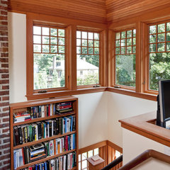 traditional home office by LDa Architecture & Interiors