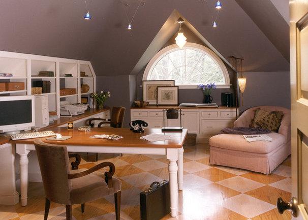 Traditional Home Office by Siemasko + Verbridge
