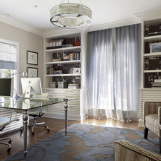 Contemporary Home Office by Billy Blanco Designs