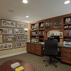 traditional home office by Case Design/Remodeling, Inc.