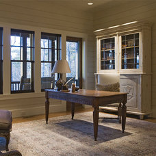 Traditional Home Office by The Berry Group