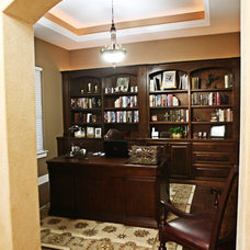 Traditional Home Office by Meier Custom Built Homes, LLC