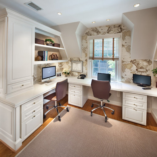 Traditional Home Office Design Ideas: Traditional Home Office Design Ideas, Remodels & Photos