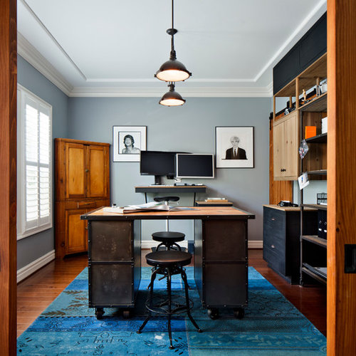 Industrial Office Desk Houzz