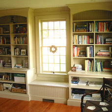Traditional Home Office by Classic Colonial Homes, Inc.