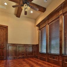 Traditional Entry by Oakmark Custom Homes