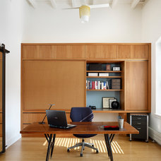 Modern Home Office by Boland Woodworking