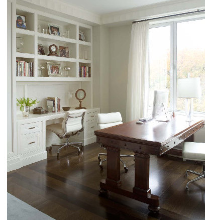 Traditional Home Office by Prentice Interiors