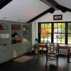 Traditional Home Office by Cranberry Hill Kitchens