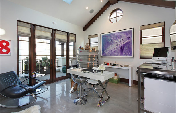 Contemporary Home Office by Cantoni Irvine