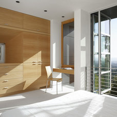 Contemporary Home Office by Charles Debbas Architecture