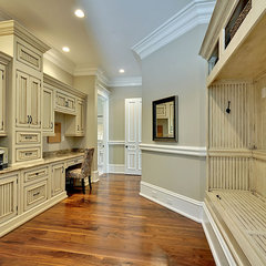 traditional home office by creative designs llc