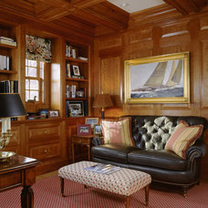 Traditional Home Office by Pamela Gaylin Ryder, Inc