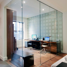 Contemporary Home Office by StudioLAB, LLC