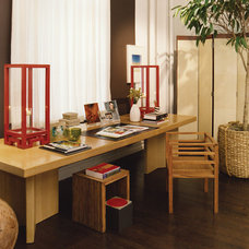 Asian Home Office by Thom Filicia Inc.