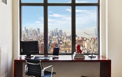 Blaupause: 31 Home Offices mit grandiosem Ausblick