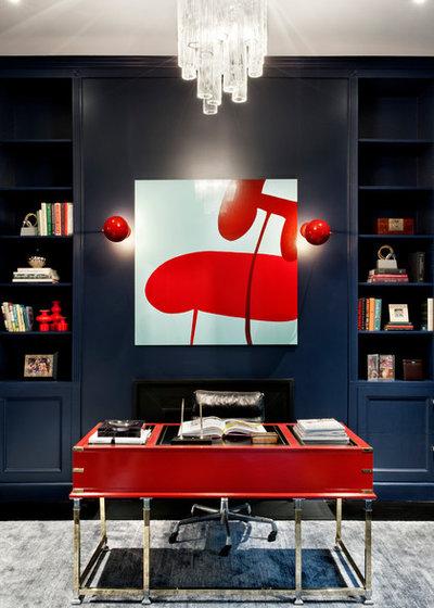 les duos improbables comment associer le rouge et le bleu. Black Bedroom Furniture Sets. Home Design Ideas