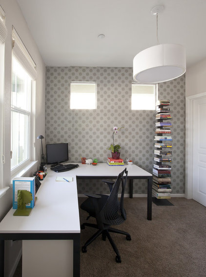 Modern Home Office by Joy Street Design
