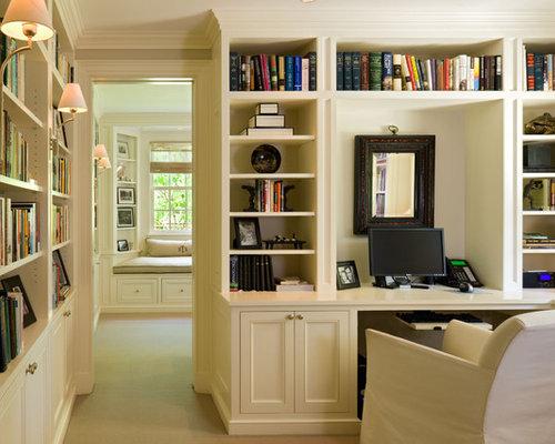 Best Bookcases Built In Desks Design Ideas  Remodel Pictures  Houzz