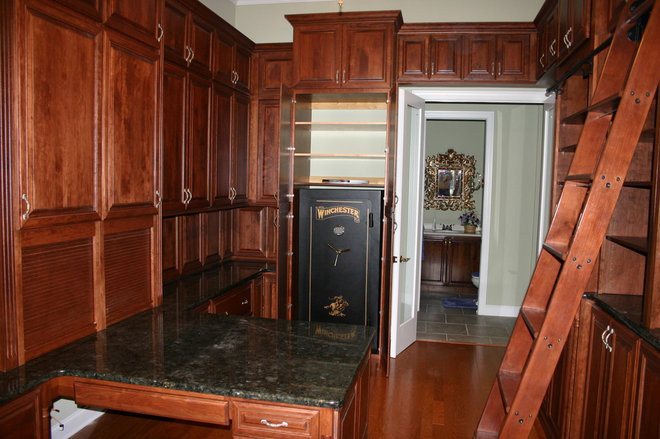 Traditional Home Office by Carson's Cabinetry & Design