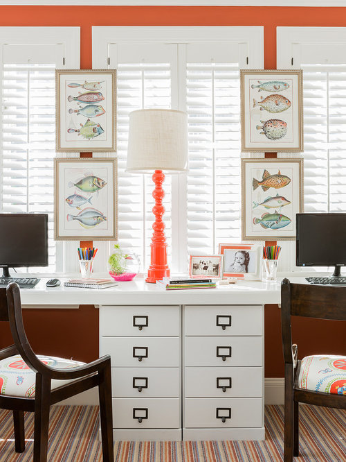 9464 Color Carpet Home Office Design Ideas Remodel Pictures Houzz