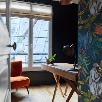 Inside a Modern and Chic Parisian Apartment Blvd Magenta