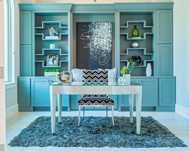 Modern Home Office by By Design Interiors, Inc.