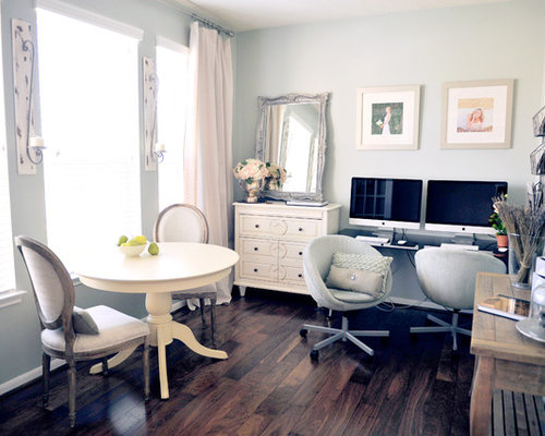 cool shabby chic home office decor | Shabby Chic Office Home Design Ideas, Pictures, Remodel ...