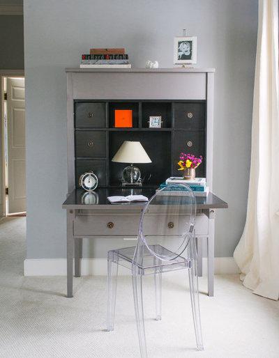 Klassisch modern Arbeitszimmer by Lauren Nelson Design