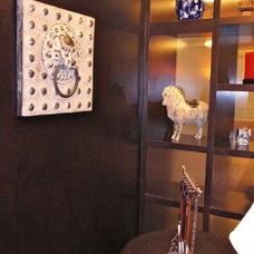 Asian Home Office by Artdecotek & a.d.t Pro