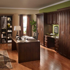 Traditional Home Office by Posh Spaces