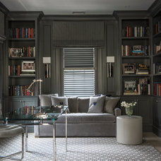 Traditional Home Office by Palindrome Design, LLC