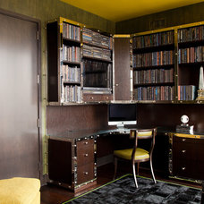 Contemporary Home Office by amanda nisbet