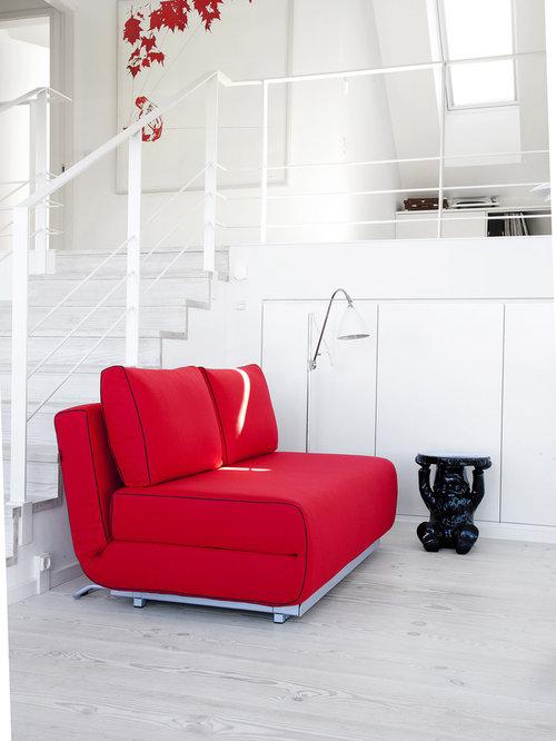Modern home office idea in London