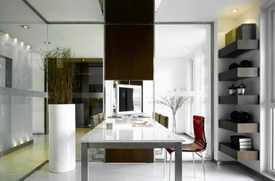 Modern Home Office by CL3