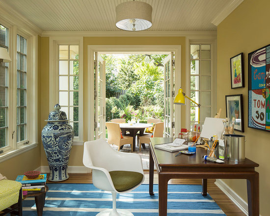 Eclectic Home Office eclectic 9x12 home office design ideas, remodels & photos