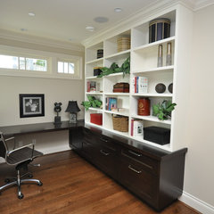 traditional home office by Ron Will Management