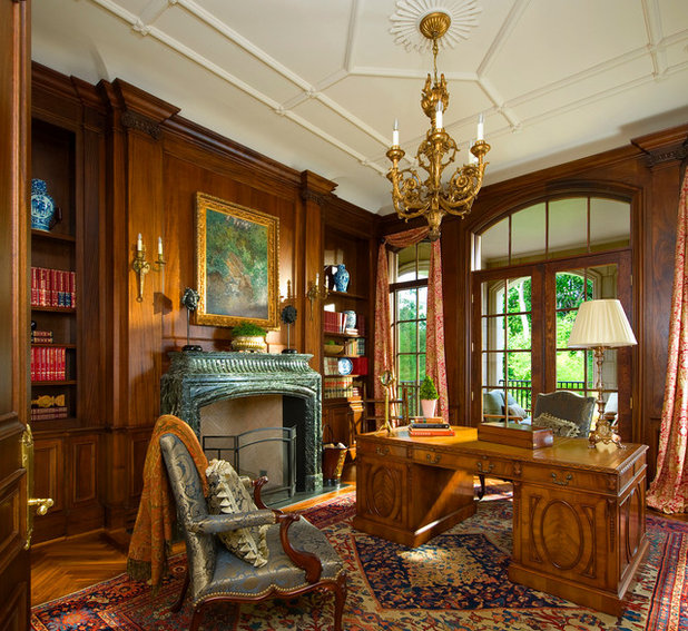 Traditional Home Office by Richard Drummond Davis Architects