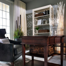 Traditional Home Office by Design Studio 15