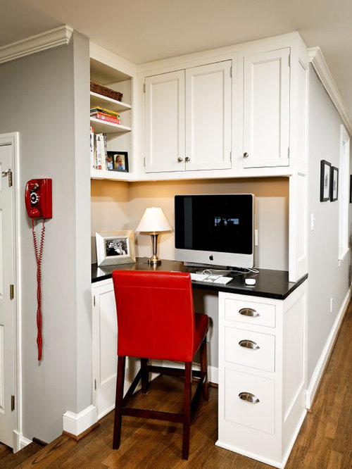 Kitchen Desk Ideas Extraordinary Small Corner Kitchen Desk Ideas & Photos  Houzz Review