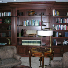 Traditional Home Office by Schill Architecture LLC