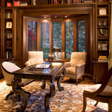 traditional home office by Harte Brownlee & Associates Interior Design