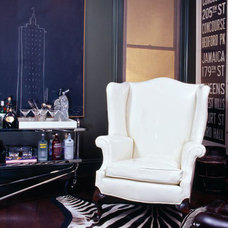 Traditional Home Office by Martha Angus Inc.