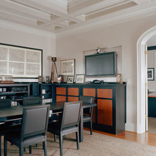 Traditional Home Office by Adams Architects
