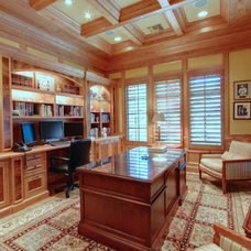 Traditional Home Office by Artful Design Interiors